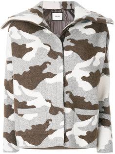 камуфляжное пальто Max & Moi