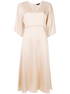 вечернее платье с V-образным вырезом Theory