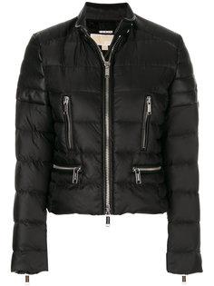 байкерская дутая куртка  Michael Michael Kors
