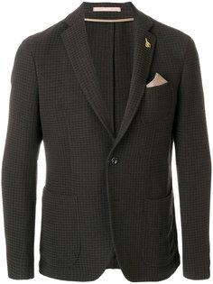 пиджак с нагрудным платком Paoloni