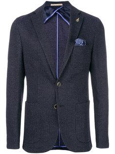 фактурный пиджак Paoloni