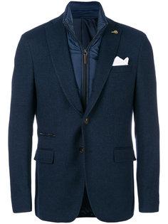 многослойный пиджак Paoloni