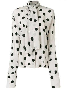 блузка в горох Natasha Zinko