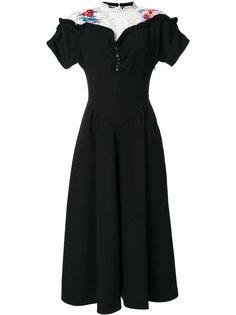 расклешенное платье  Vivetta