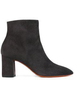 ботинки на каблуке Santoni