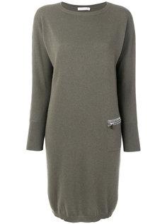 платье-свитер на молнии Fabiana Filippi