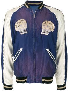куртка-бомбер с вышивкой Tailor Toyo