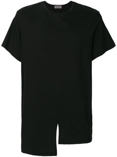 футболка с асимметричным подолом Yohji Yamamoto