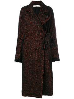 объемное твидовое пальто Damir Doma