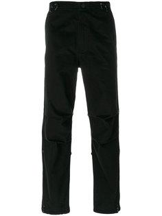 брюки с вышивкой дракона Maharishi