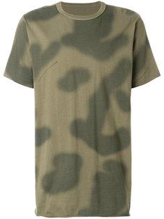 футболка с камуфляжным принтом Maharishi