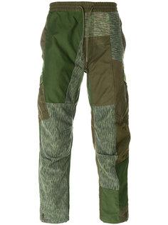 спортивные брюки upcycled  Maharishi