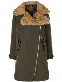 пальто из овчины Moncler