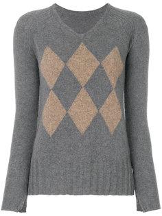 свитер в ромбик Sottomettimi