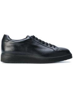 кроссовки со шнуровкой Santoni