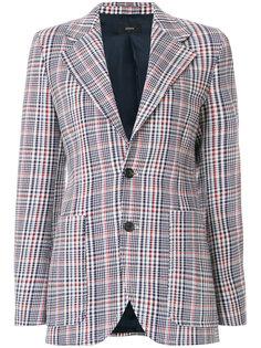 пиджак в клетку Garvan Elton  Joseph