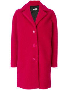 объемное пальто Love Moschino