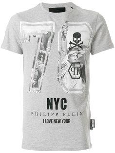 футболка с графическим принтом Philipp Plein