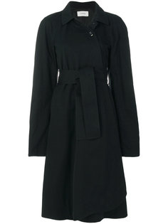 пальто с запахом с поясом Lemaire