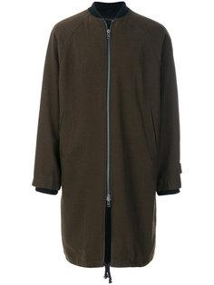 приталенное пальто на молнии Ann Demeulemeester