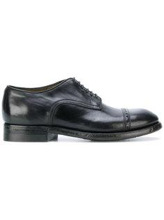 декорированные ботинки Дерби  Silvano Sassetti