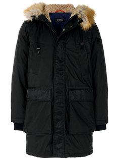 пальто с капюшоном W-Folk Diesel