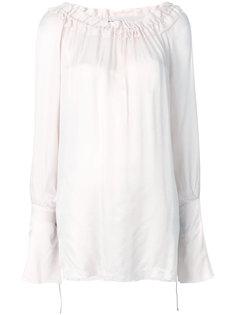 блузка с оборкой  Ann Demeulemeester