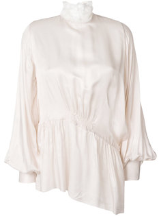 блузка с декоративной стяжкой Ann Demeulemeester