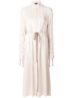 расклешенное платье-шифт Ann Demeulemeester