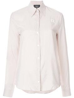 классическая приталенная блузка  Rochas