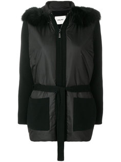 куртка с капюшоном и лисьим мехом Max & Moi