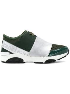 кроссовки с контрастными лямками Frankie Morello