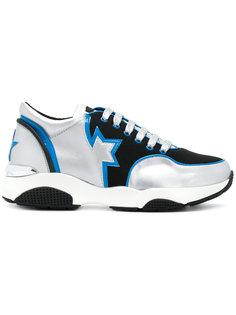 кроссовки на шнуровке Frankie Morello