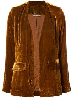 бархатный пиджак Ulla Johnson