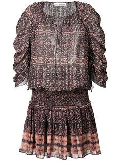 короткое платье с принтом Ulla Johnson