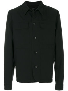 куртка с накладными карманами Helmut Lang