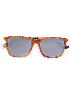 солнцезащитные очки в объемной оправе Mcq By Alexander Mcqueen Eyewear