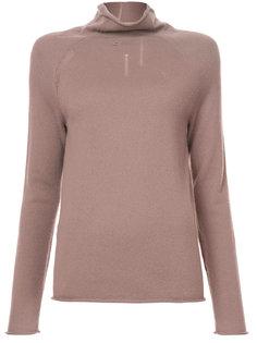 свитер с отворотной горловиной  Raquel Allegra