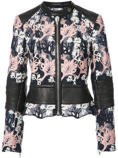 куртка с вышивкой Yigal Azrouel