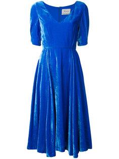 расклешенное платье-миди Novis