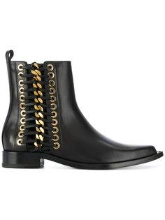 ботинки с цепочной отделкой Alexander McQueen