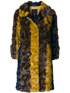 пальто в полоску Frankie Morello