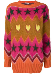 жаккардовый свитер Dondup
