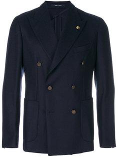 костюм с двубортным пиджаком Tagliatore