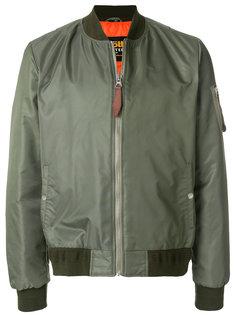 классическая куртка-бомбер  Schott