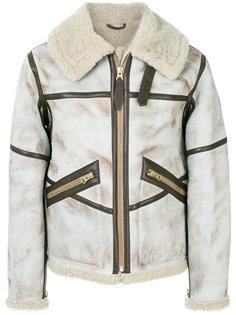 куртка из овчины Schott
