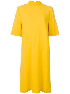 платье с горловиной-воронка Joseph