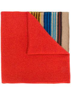 полосатый шарф Drumohr