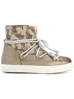камуфляжные зимние ботинки на шнуровке Inuiki