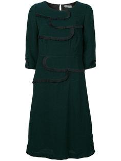 платье со сборками Cotélac
